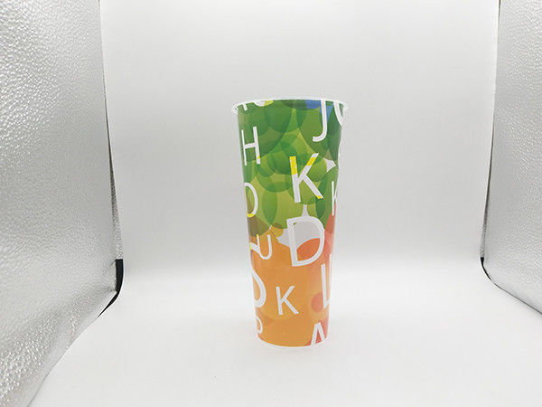 Fashionable Food Grade Plastic Cups , Promotional Plastic Cup FDA Certification